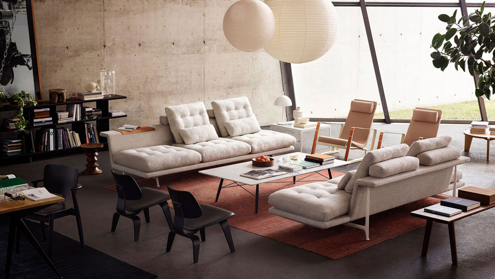 divano grand sofa by vitra