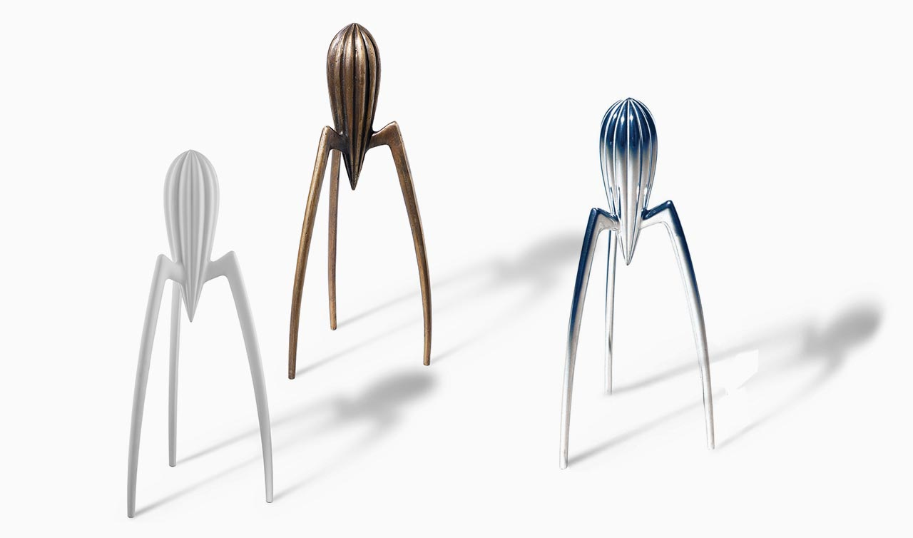 juicy salif the philippe starck lemon squeezer. Black Bedroom Furniture Sets. Home Design Ideas