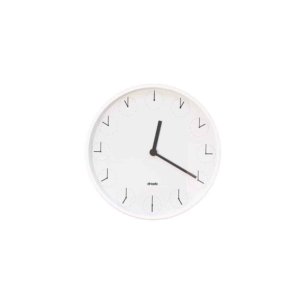Clock in Clock, Nendo, Driade