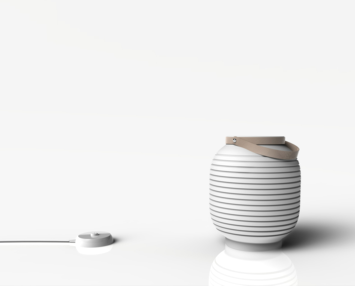 Honey combines two main design ideas: a honey-pot, from which derives its name and the a traditional Japanese paper lantern. Honey is a wireless lamp which can be moved around the house in total...