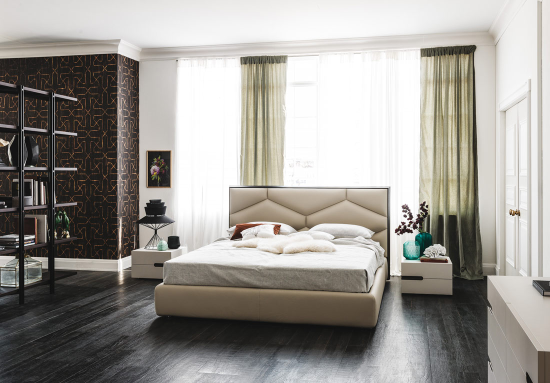 edward bed by cattelan italia