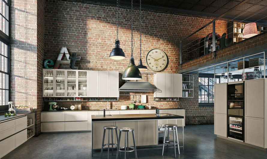 frame kitchen by snaidero