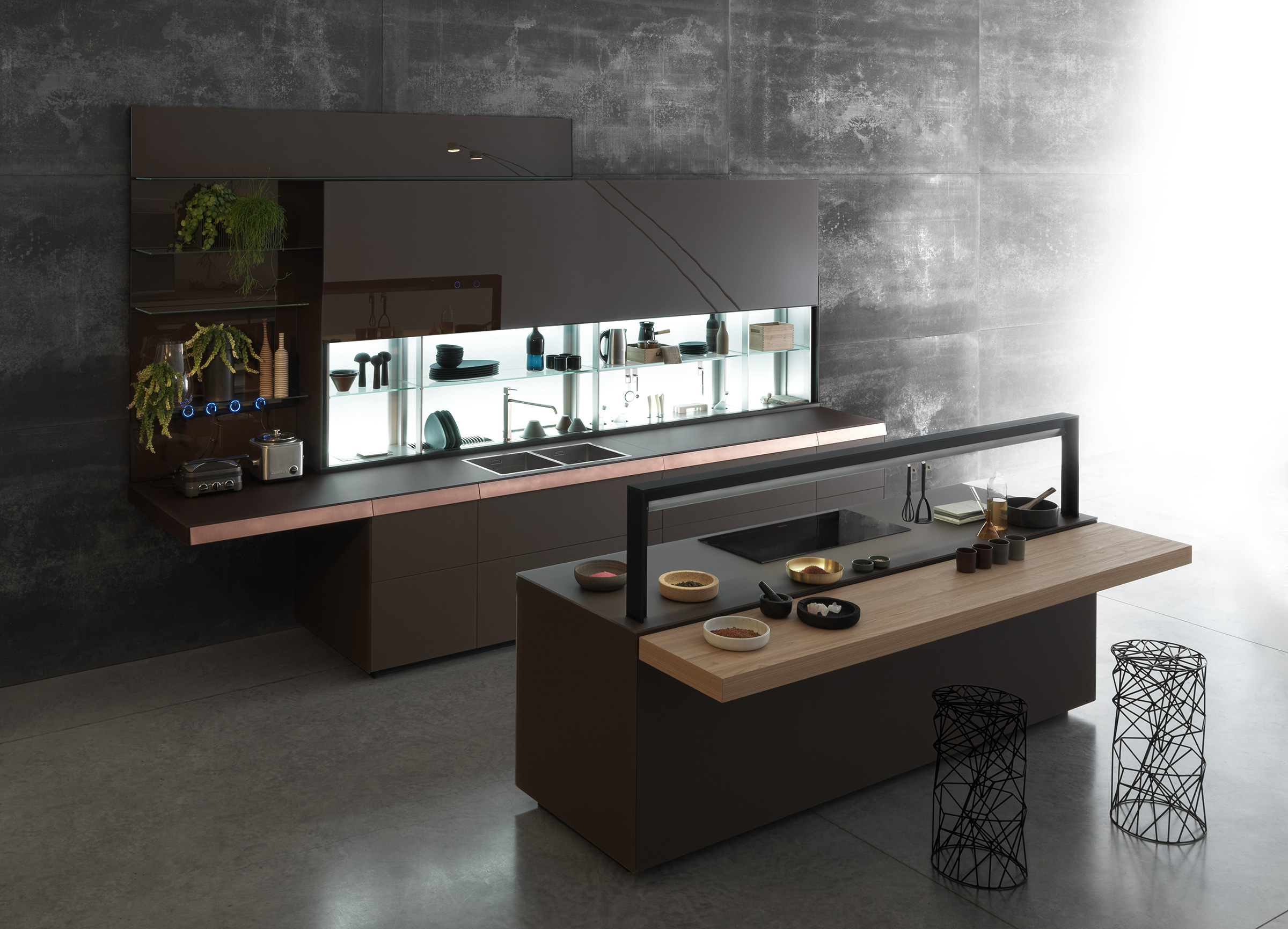 genius loci kitchen by valcucine