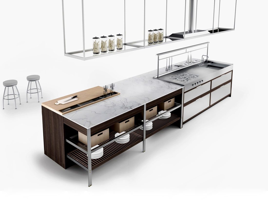 k lab kitchen by ernestomeda