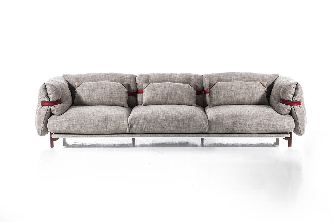 belt sofa by moroso