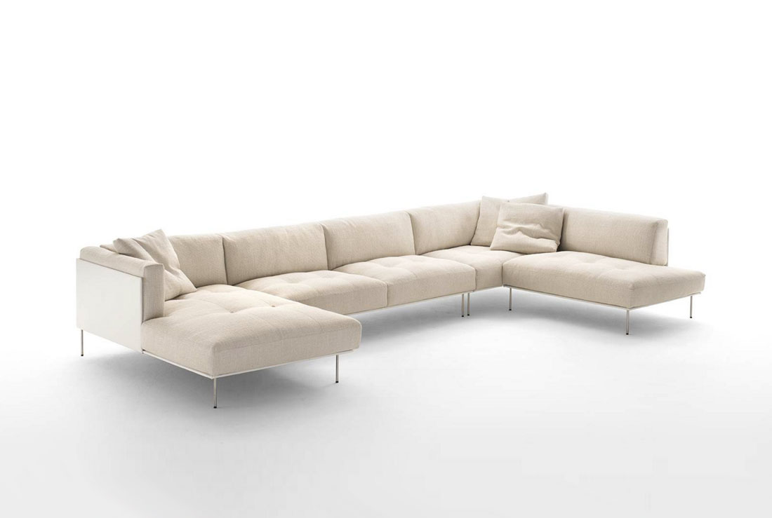 rod sofa by living divani