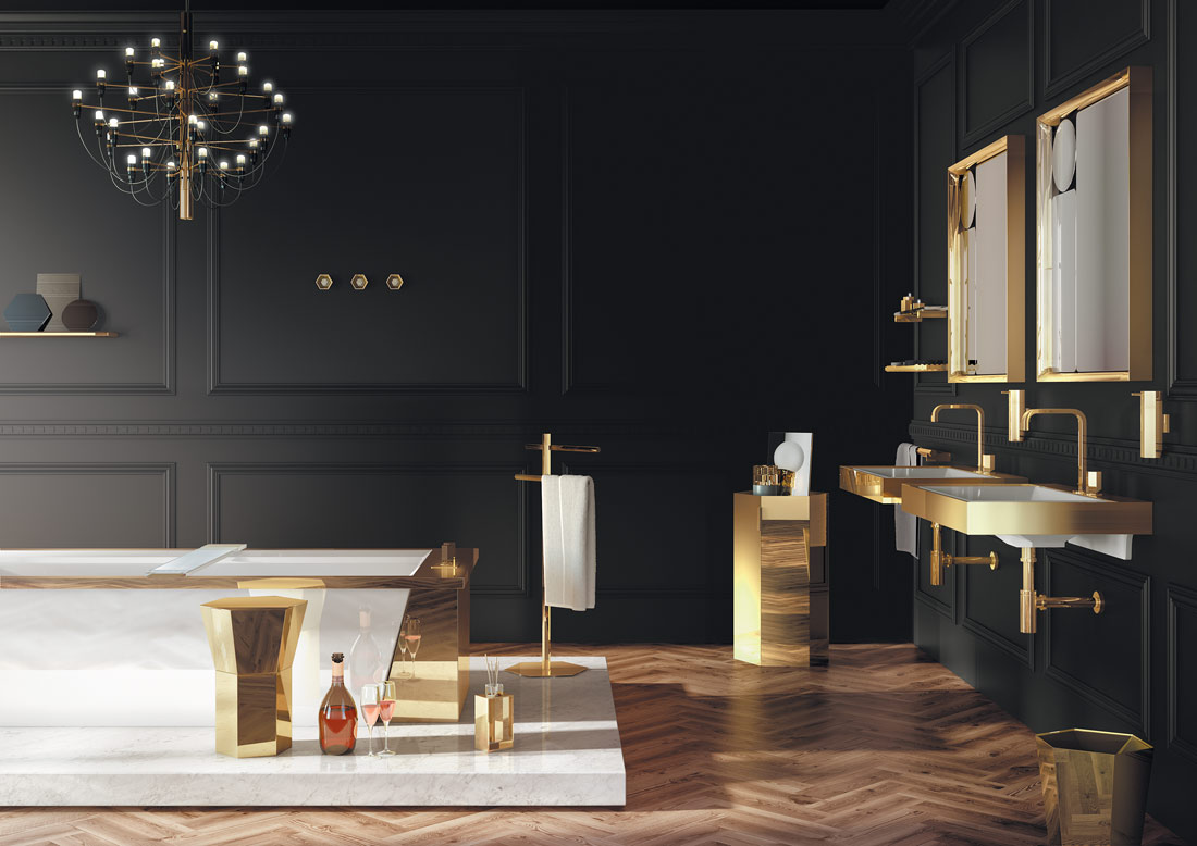 mirage bathroom by pomd'or