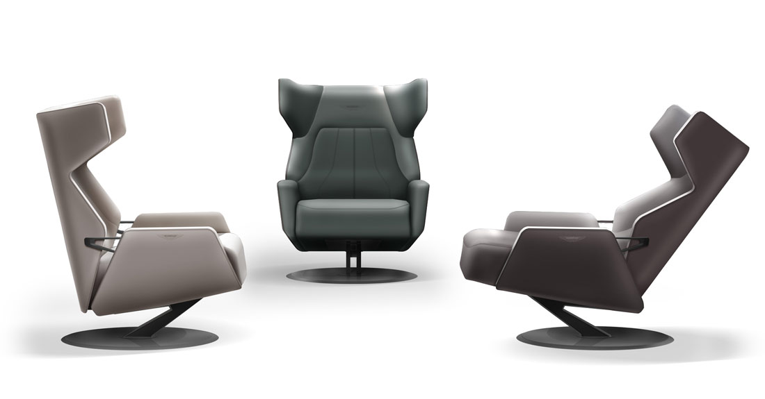 v163 armchair by aston martin
