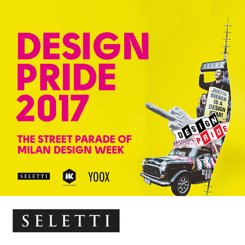 Fuorisalone event calendar images for Design pride milano