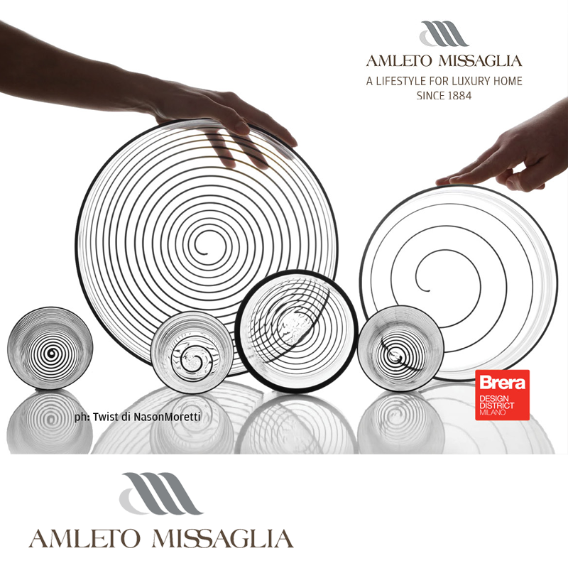 Amleto Missaglia: Home Contemporary Playful Design Gallery