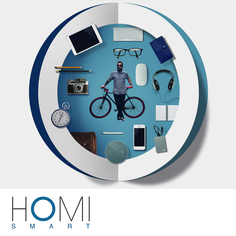 HOMI Smart: Design Nomade