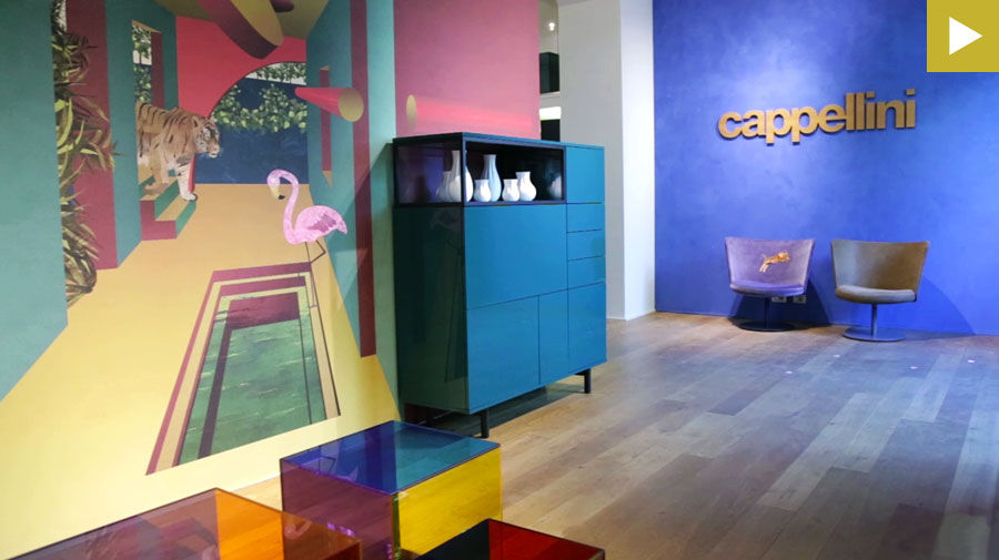 On the red carpet with Cappellini