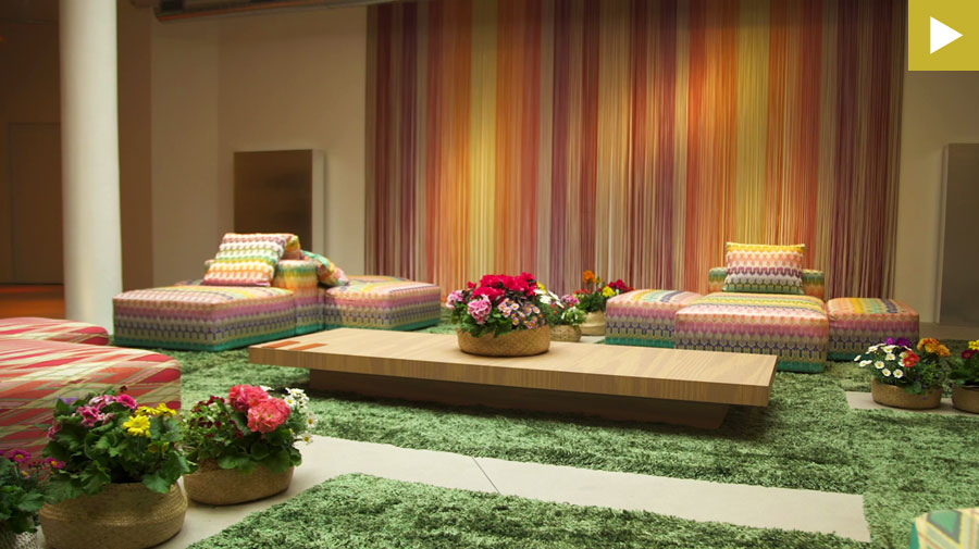 Best of Fuorisalone #19 - Missoni Home | Stripes Mosaic