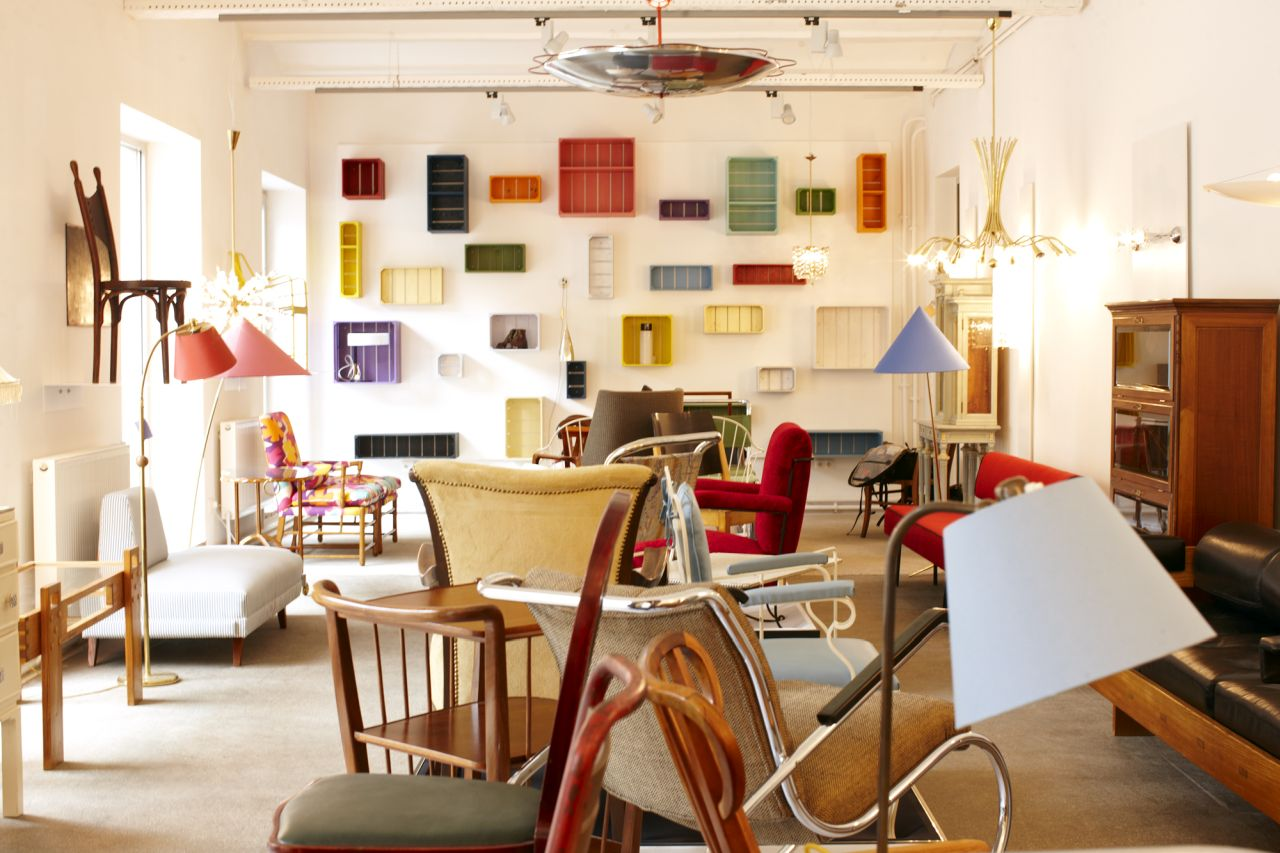 Lichterloh, vintage design furniture in Vienna