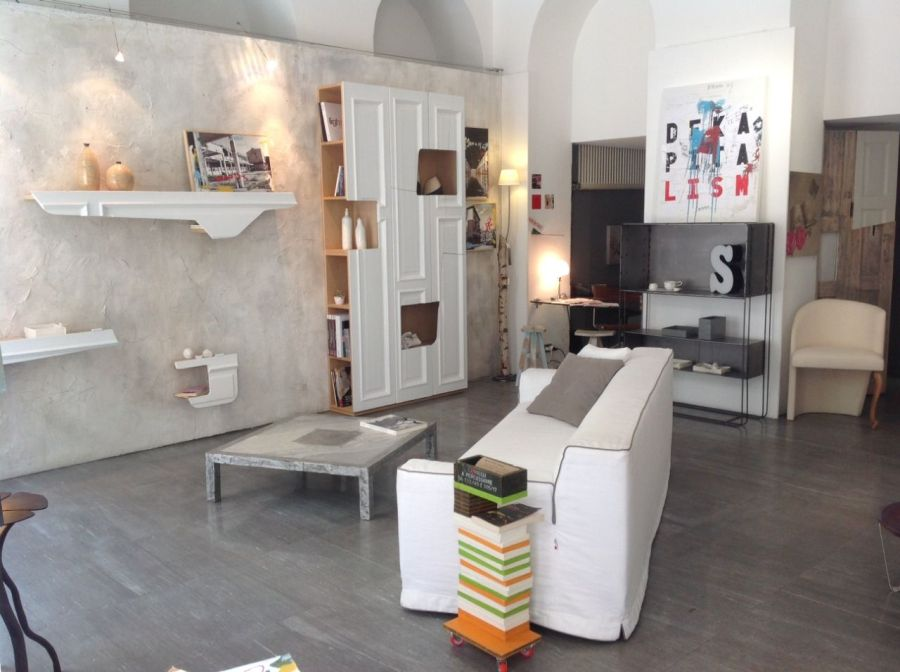 Contemporary furniture in an extremely special interior design store