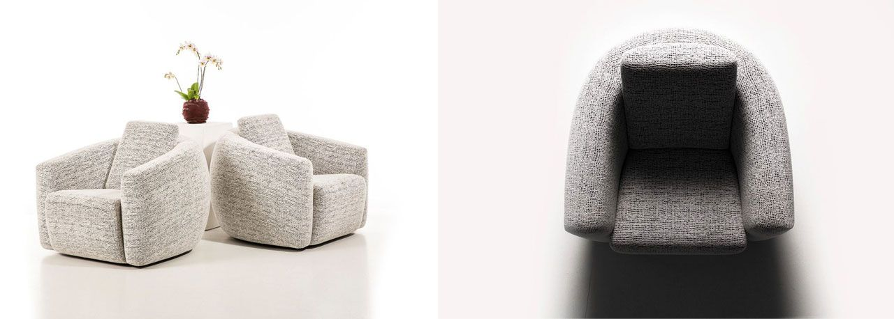 Loop armchairs by USC collection