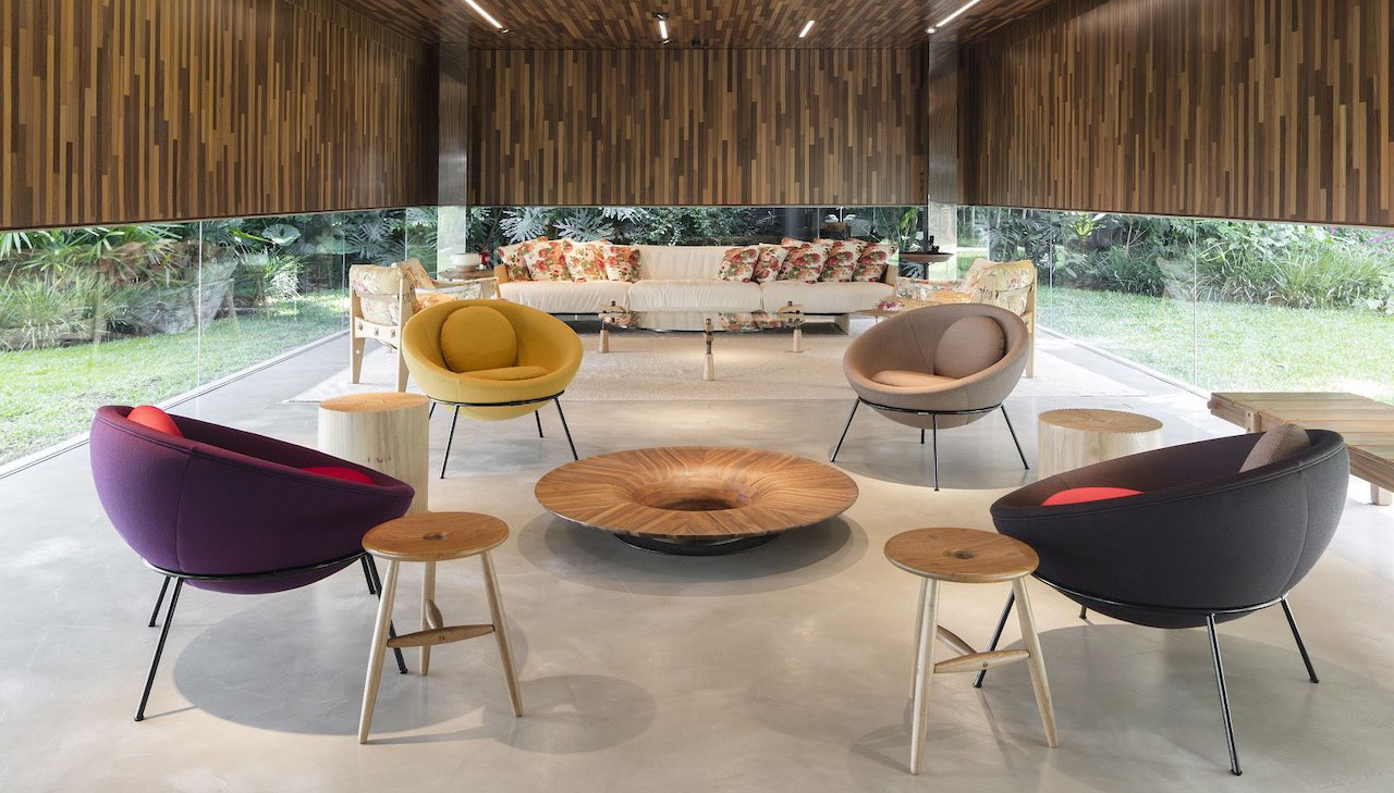 Dpot: bewitching Brazilian design at the Sao Paulo showroom
