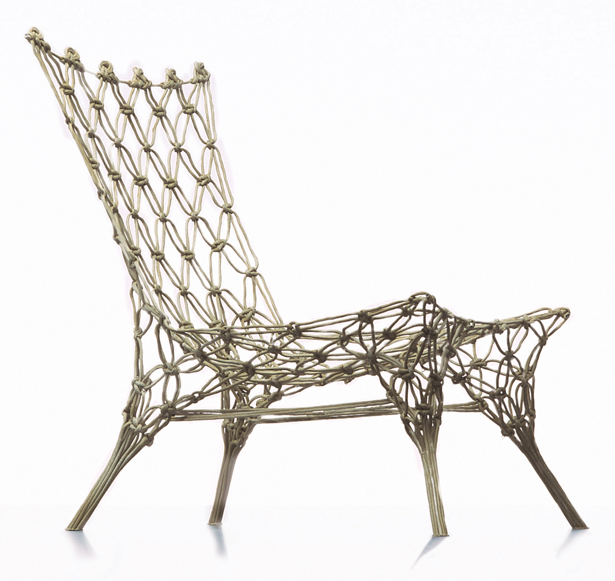 Knotted Chair, Marcel Wanders, 1996.