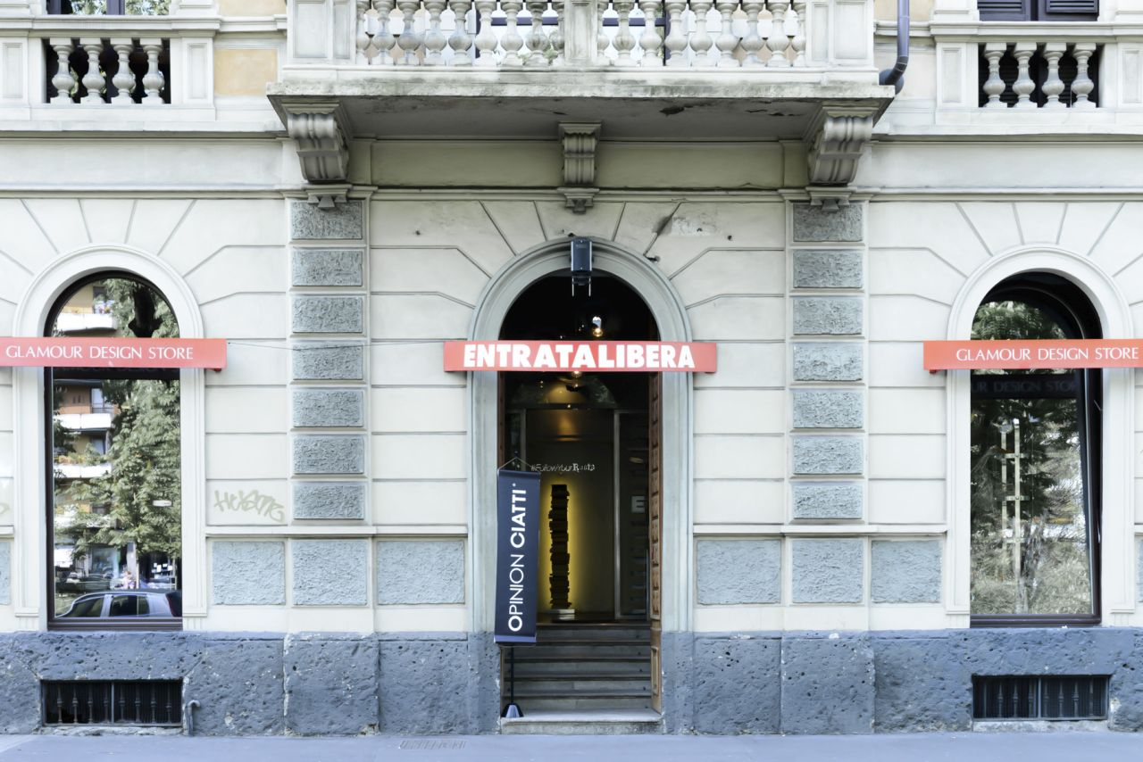 The main entrance of EntrataLibera in Milan