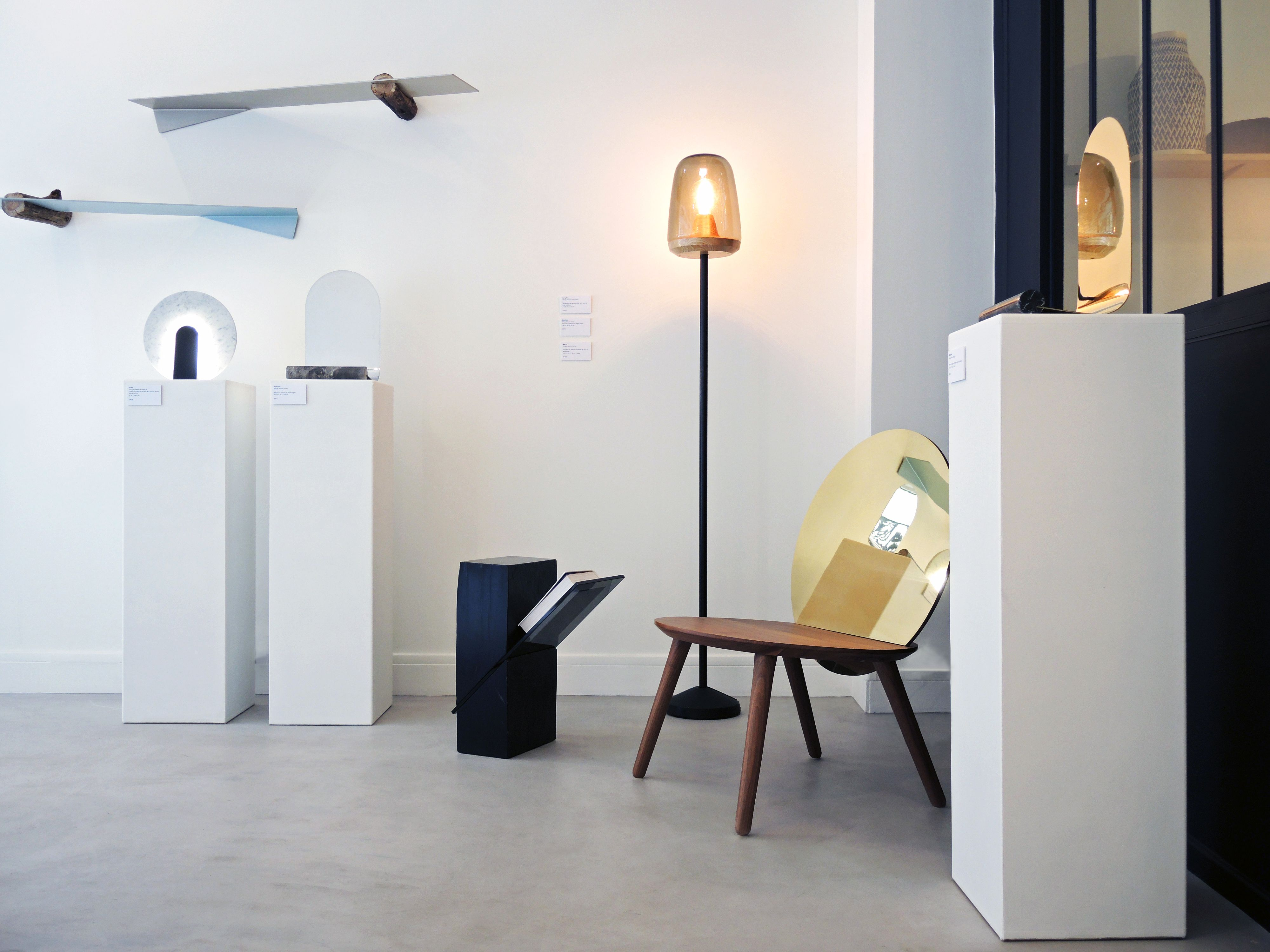 a new contemporary design gallery in Paris