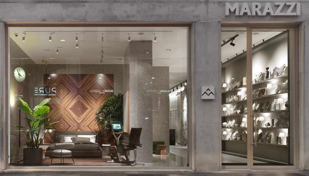 Marazzi Showroom Milano: a new look by Citterio - Viel