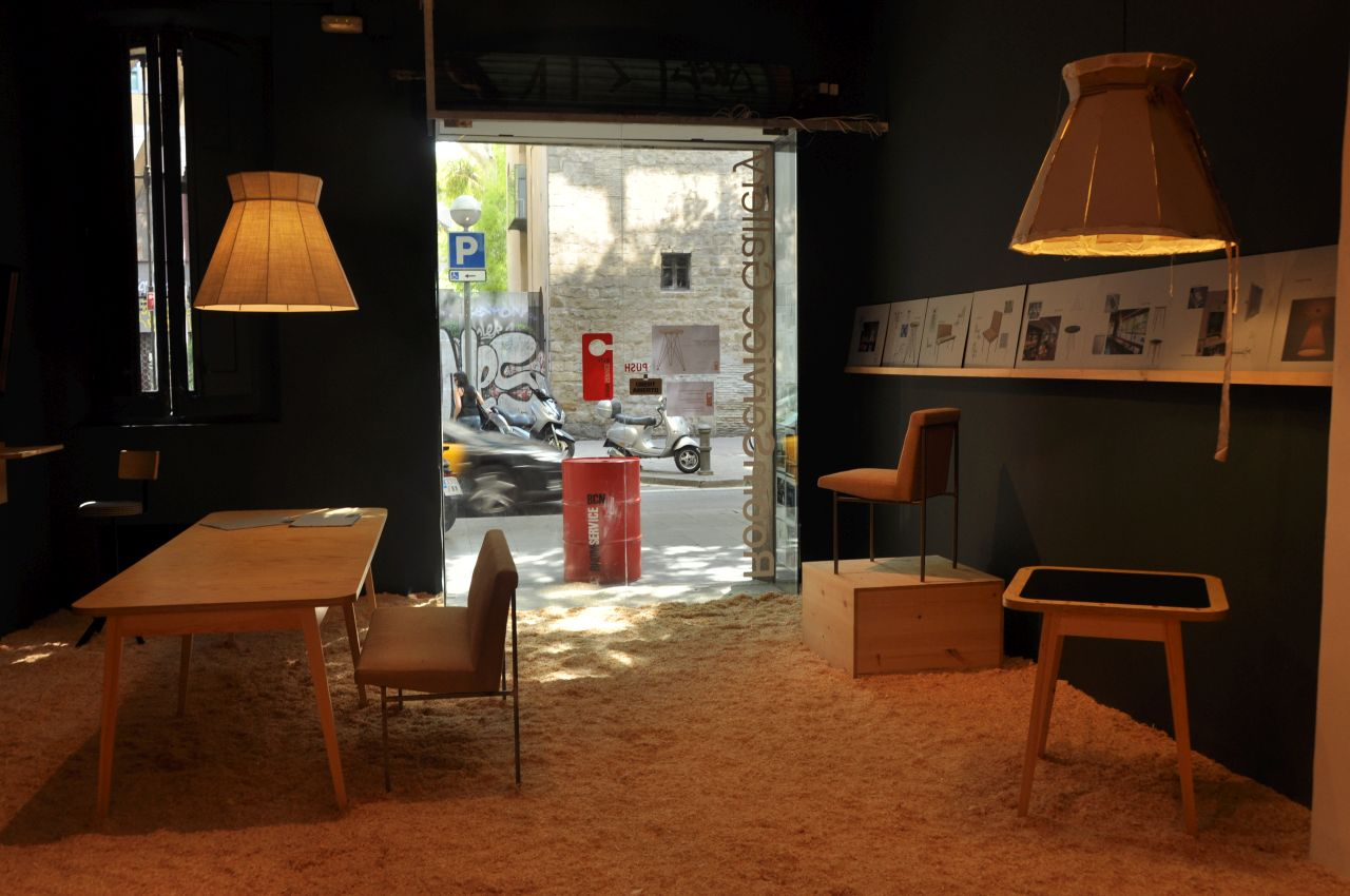 Lo showroom di Roomservice, interior design store, barcellona