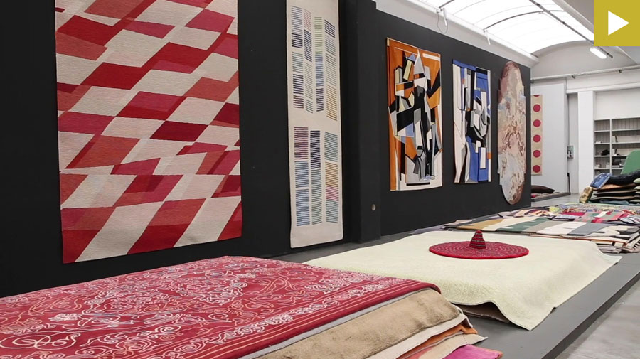 NODUS, the carpet collection that blends art with design
