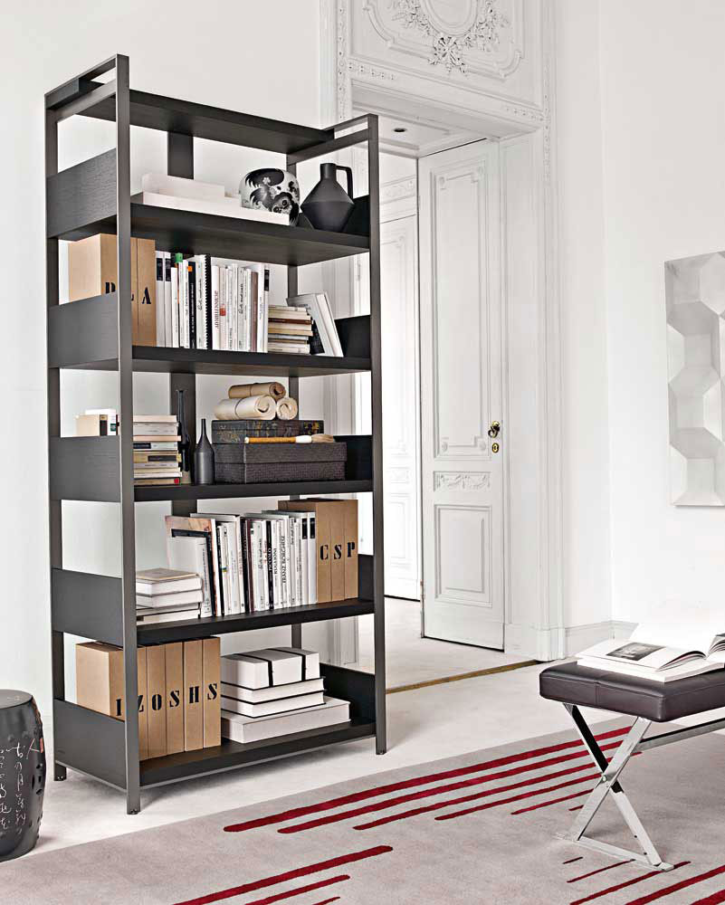 eracle bookcase by maxalto