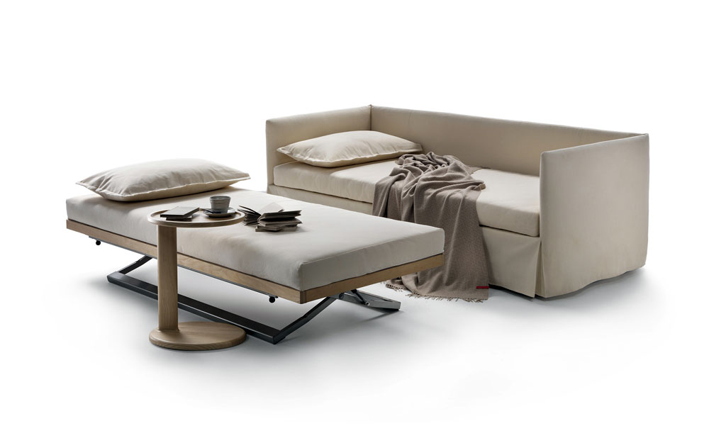sofa bed by flexform