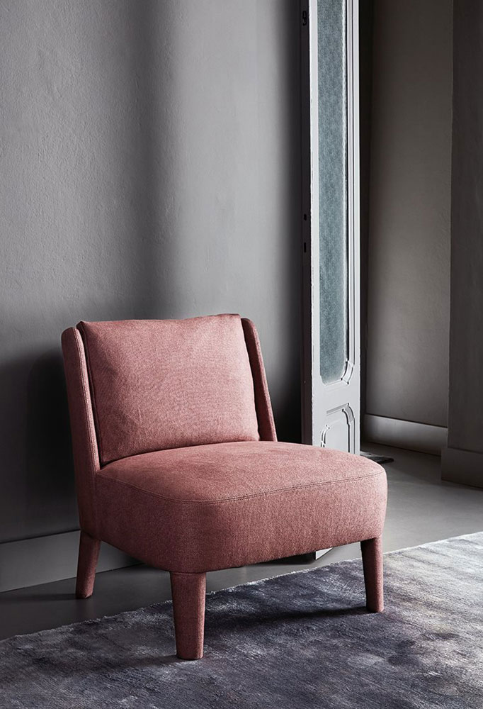 cecile small armchair by meridiani
