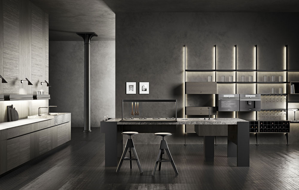 Cucina New Project, design Garcia Cumini, Cesar 2018