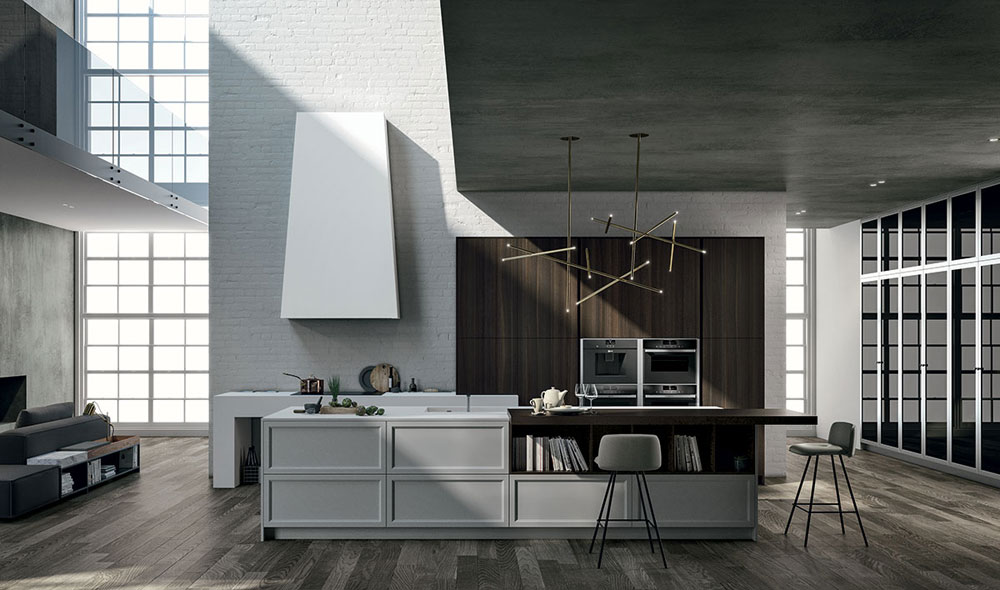 Cucina Vogue Contemporary, design R&S Doimo Cucine, Doimo Cucine 2018