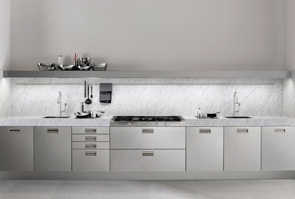 Italia kitchen, design Antonio Citterio 2013, Arclinea