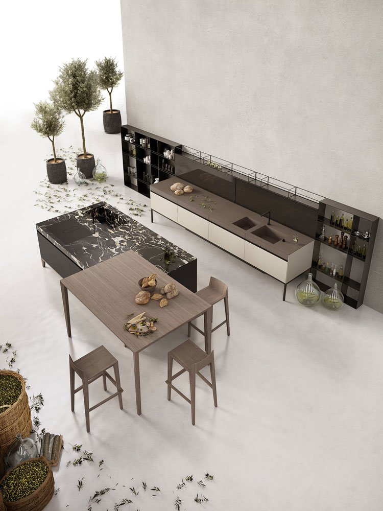 SEI kitchen, design Marc Sadler 2018, Euromobil