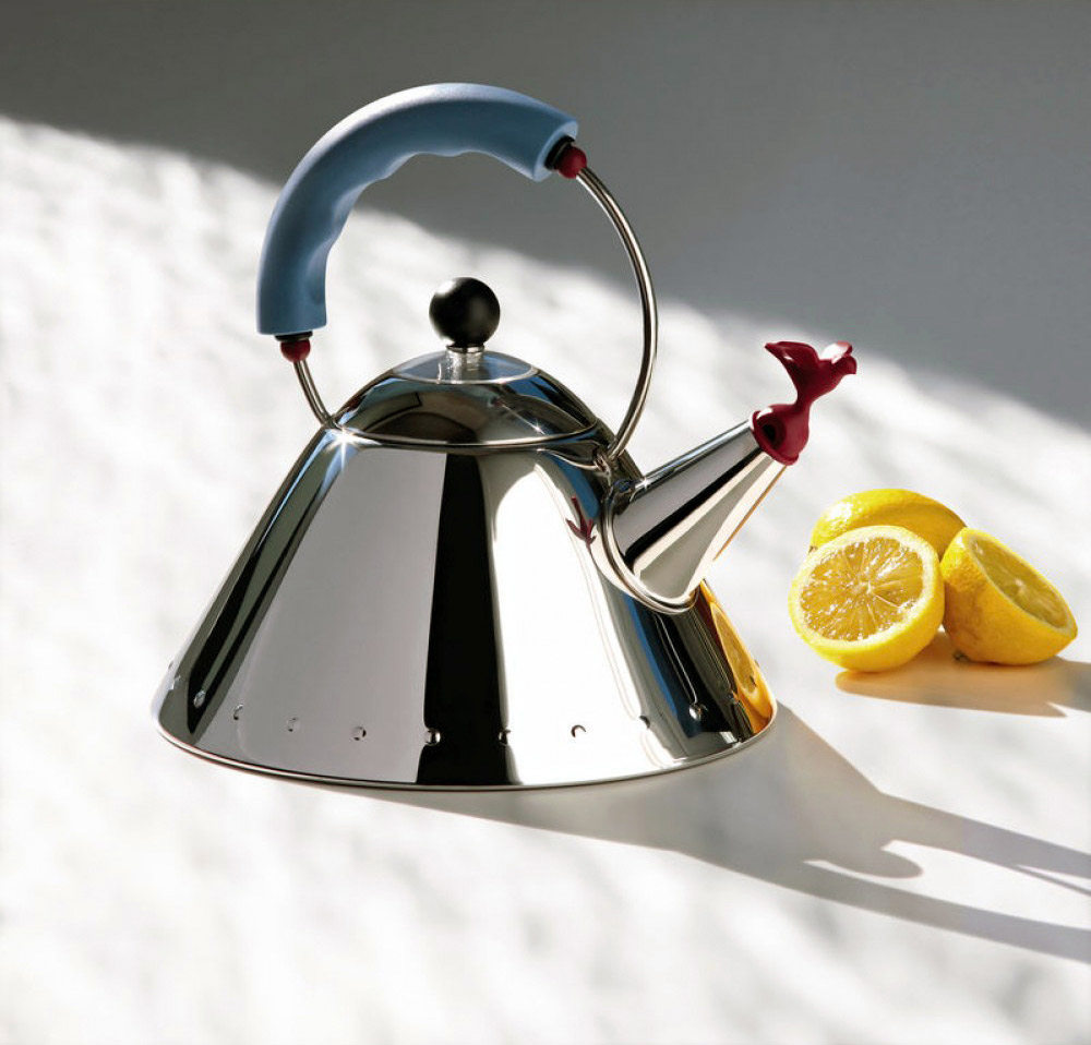 9093 kettle, Michael Graves, Alessi, 1985