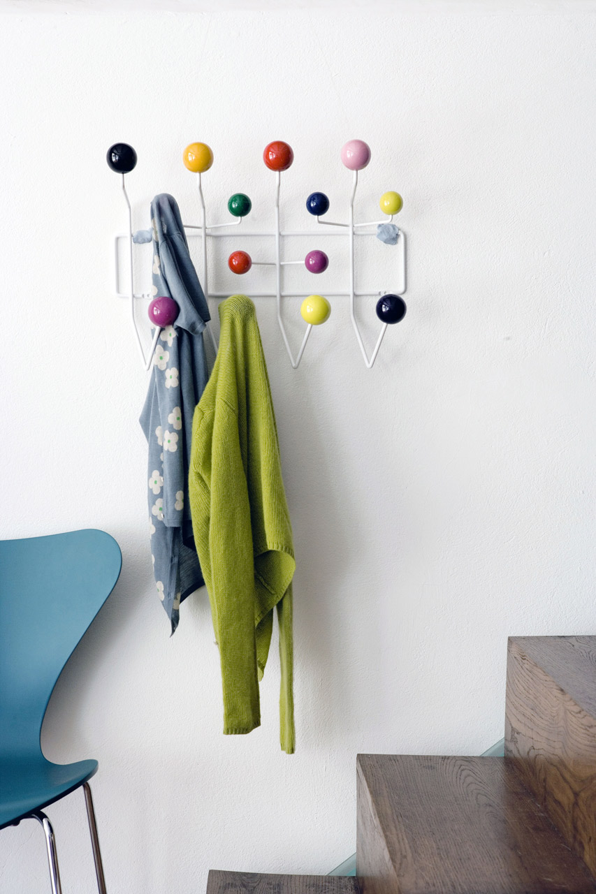 Hang It All coat hanger, Charles & Ray Eames, Vitra, 1953