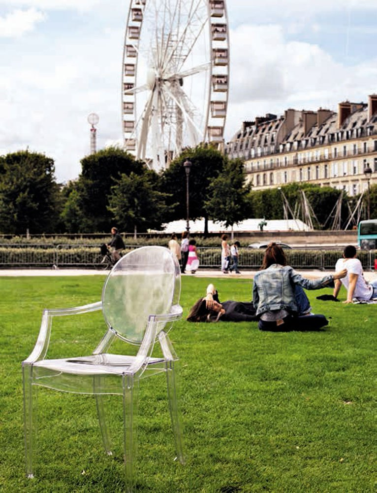 Louis Ghost Chair, Philippe Starck, Kartell, 2002