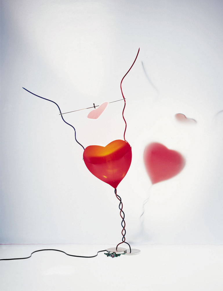 one from the heart lamp by ingo maurer