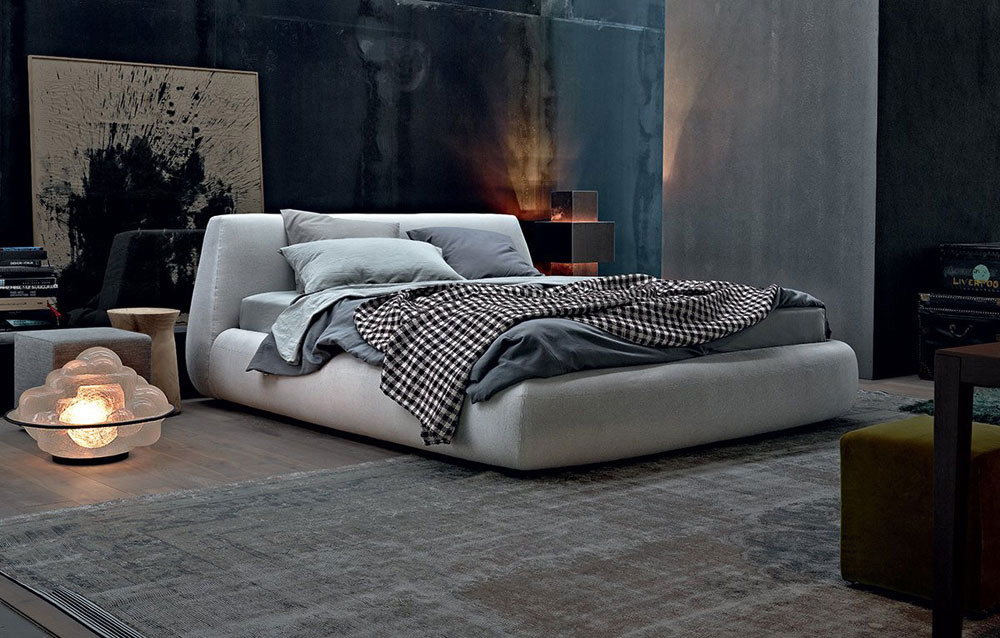 letto big bed by poliform