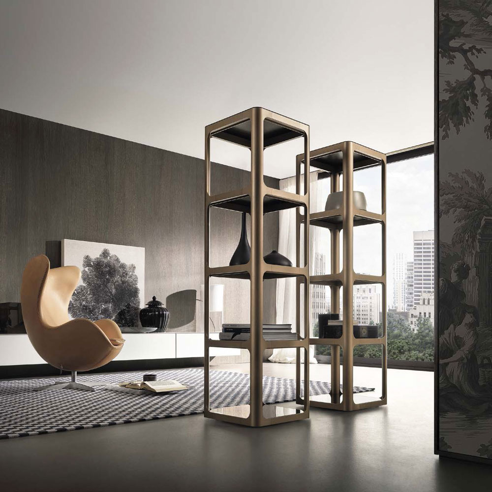 sixty bookcase by rimadesio