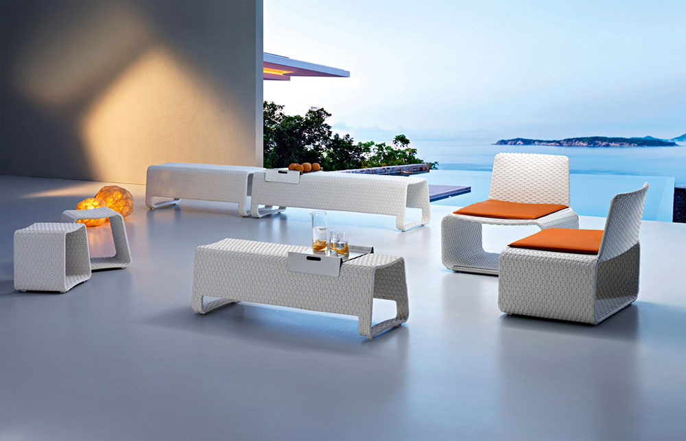 hamptons small armchair by roberti rattan