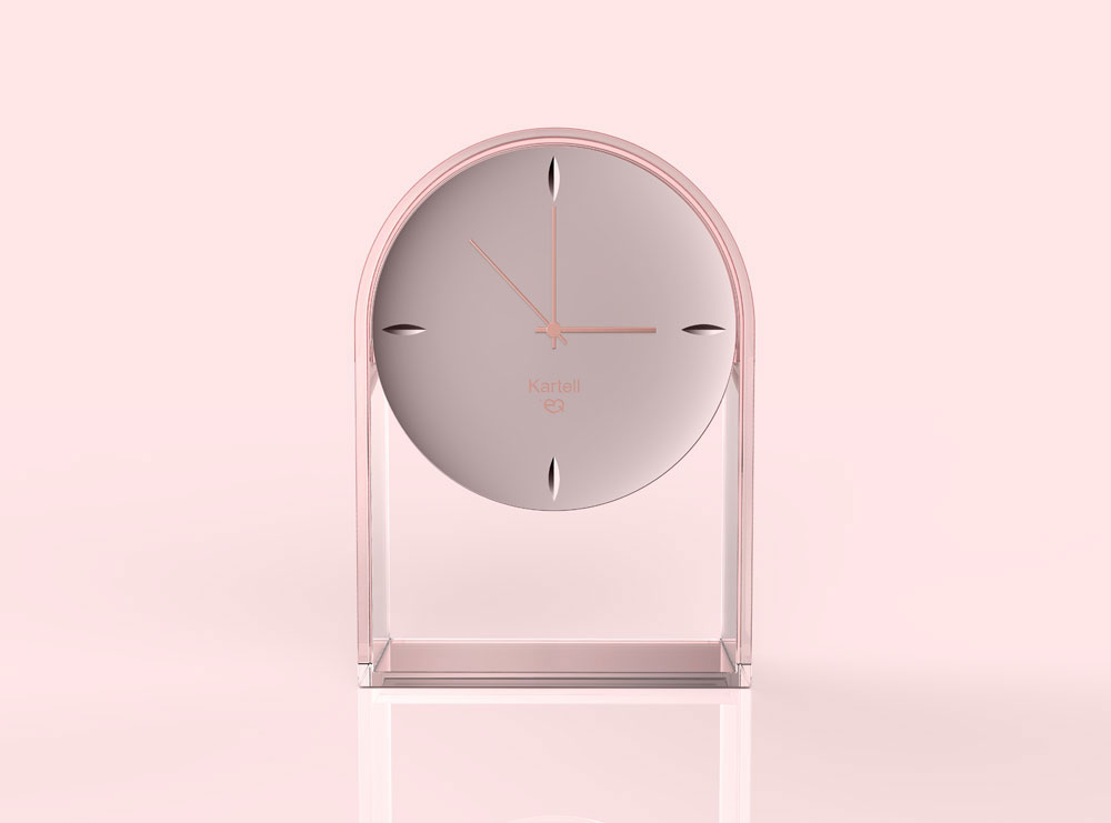 l'air du temps clock by kartell