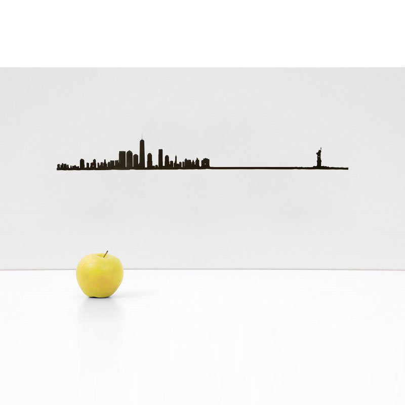 skyline new york by moroni gomma