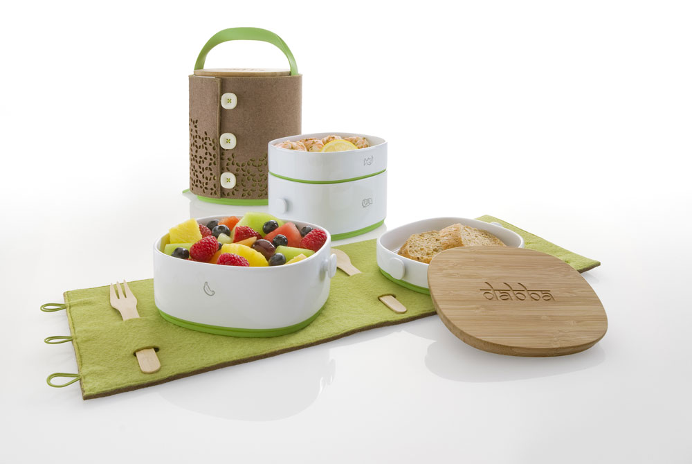 lunch set dabba by ram industrial design