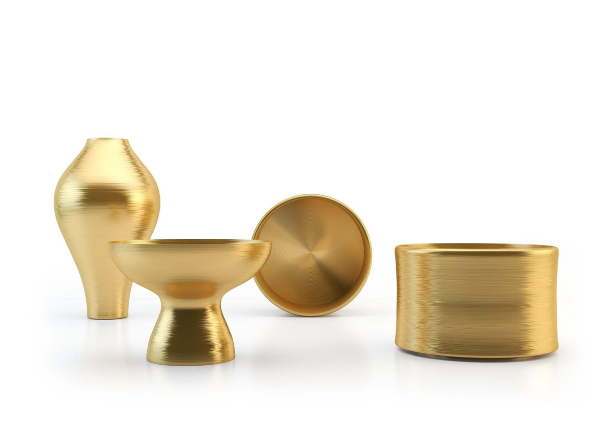 Gold Collection, Marcel Wanders, B&B Italia, 2007