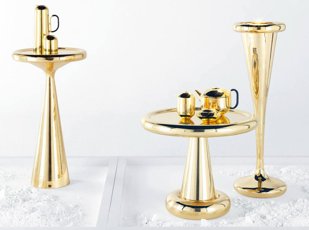 Spun Small Table, Tom Dixon, 2013