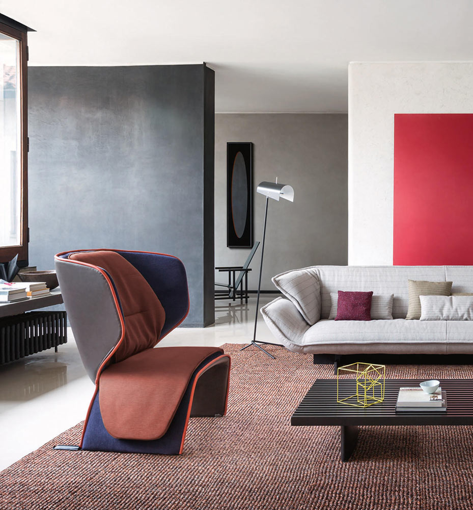 gender armchair by cassina