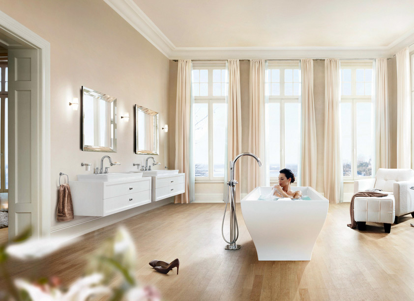 Grandera™ bathtub-fittings, Grohe, 2015