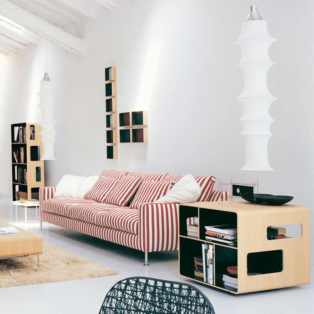 arne bookcase by b&b italia