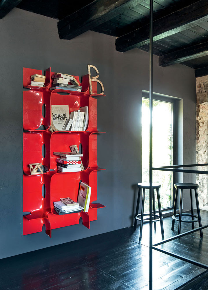 tide bookcase by magis